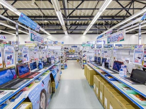 PCを主体に多彩な商品・サービス・サポートをします。