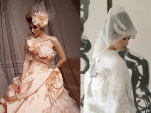 専任スタイリストが一番美しい花嫁姿をコーディネート