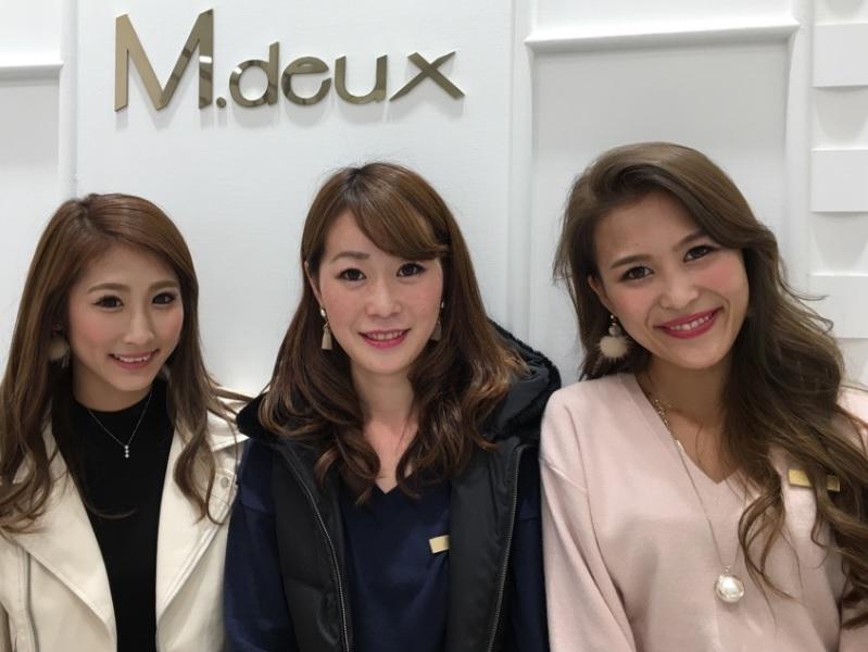 アパレルスタッフ【M.deux/浜松市野店】