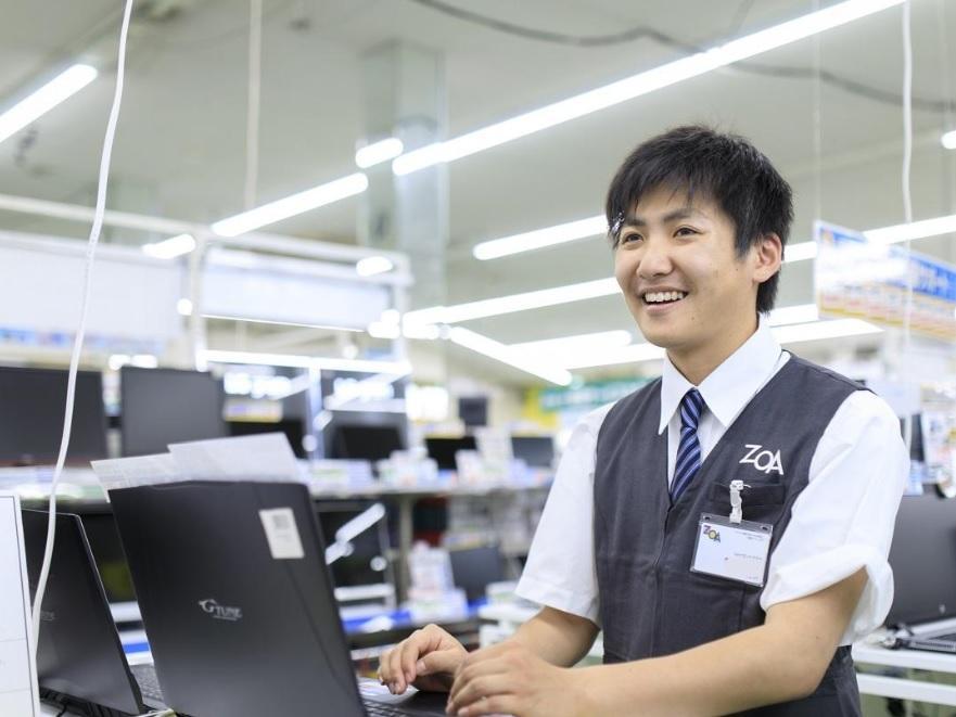販売スタッフ【パソコンの館/富山店】