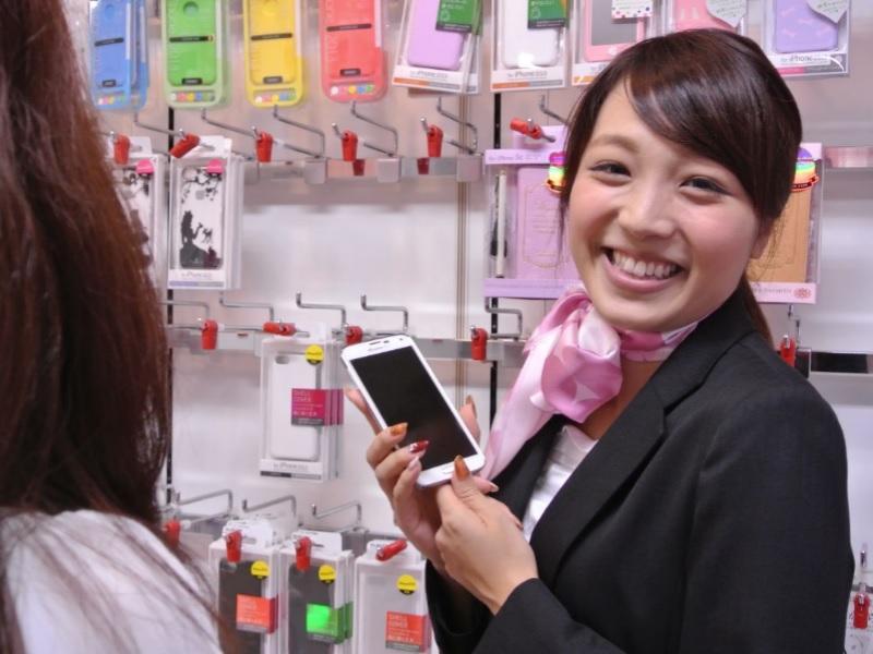 携帯ショップスタッフ【docomo・au・Softbank】